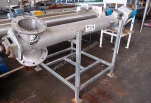 Tubular Screw Conveyor, 150mm Dia x 1500mm L