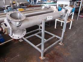 Tubular Screw Conveyor, 150mm Dia x 1500mm L - picture0' - Click to enlarge