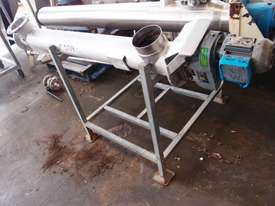 Tubular Screw Conveyor, 150mm Dia x 1500mm L - picture1' - Click to enlarge