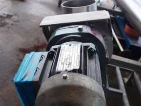 Tubular Screw Conveyor, 150mm Dia x 1500mm L - picture2' - Click to enlarge