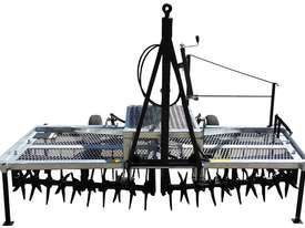 2018 FARMTECH AERVATOR GH-2404 MAXI QUAD GANG (LINKAGE, 2.4M CUT) - picture0' - Click to enlarge