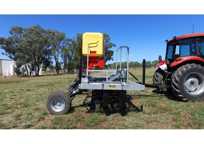 2018 FARMTECH AERVATOR GH-2404 MAXI QUAD GANG (LINKAGE, 2.4M CUT)