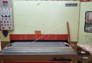 Barker 1300mm 3 head wide belt sander /comes with spare new contact roller value $5500