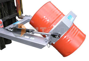 Hydraulic Drum Rotator Attachment for Forklift Drum Handling Equipment