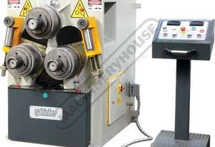 HPK-80 Section & Pipe Rolling Machine 80 x 80 x 8mm Angle Capacity Includes Digital Readout Display