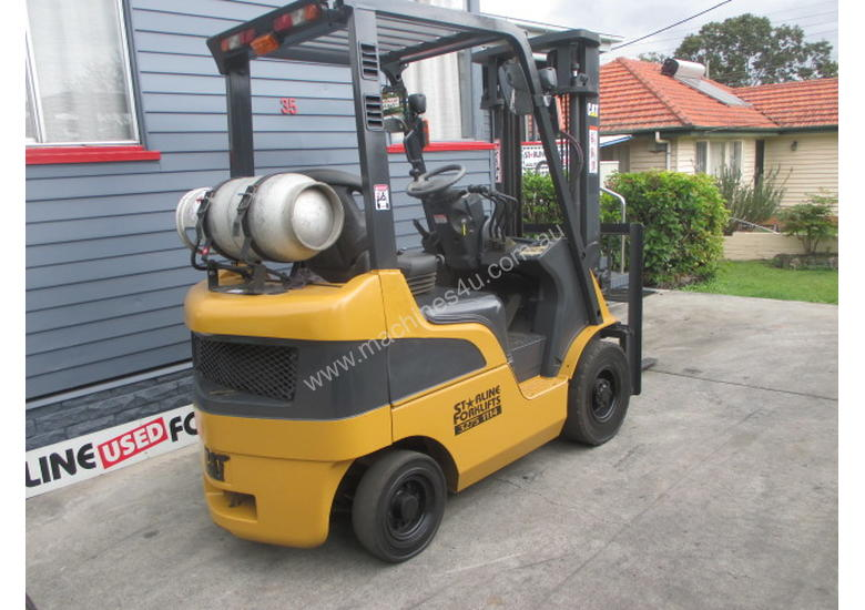 Caterpillar 1.8 ton LPG Repainted Used Forklift