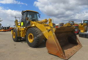 2002 CATERPILLAR 972G WHEEL LOADER