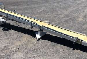 CONTECH ENGINEERING incline belt conveyor