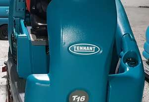 Tennant T16 Battery Ride on floor Scrubber