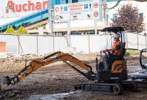 CASE CX17C C-SERIES MINI-EXCAVATORS