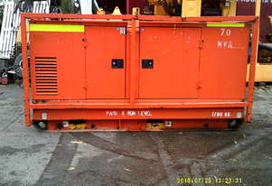 80 kva perkins powered , silenced ,