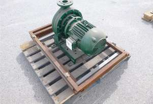 Electric Motor With Pump