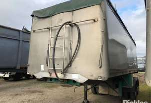 2005 Lusty EMS Tan Semi Tipper