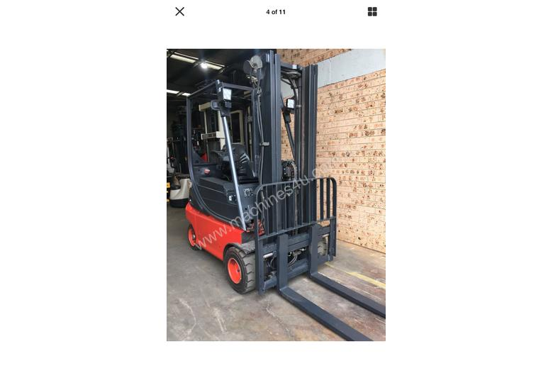 National Forklifts-Linde Late Model E18 4.7m Container Mast SS Great Battery !!!