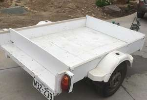 Home Made TRAILER (WHITE) HANDMADE