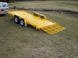 No.18HD Heavy Duty Tandem Axle Tilt Bed Plant Transport Trailer - picture0' - Click to enlarge