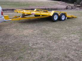 No.18HD Heavy Duty Tandem Axle Tilt Bed Plant Transport Trailer - picture2' - Click to enlarge