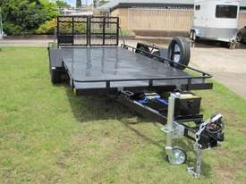 No.18HD Heavy Duty Tandem Axle Tilt Bed Plant Transport Trailer - picture3' - Click to enlarge