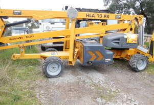 2011 55' HLA19px spider lift , diesel 4x4x4