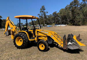 John Deere 110 Backhoe Loader Loader