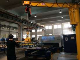 Vacuum lift - sheetmetal handling and loading for fiber laser cutter - picture1' - Click to enlarge