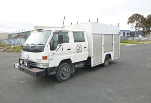 Toyota Dyna Crew cab Service Truck