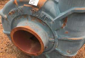 METSO/ORION 350/300 Slurry Pump with spare Volutes