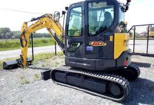 New Holland E60C (Cab only) Compact Excavators