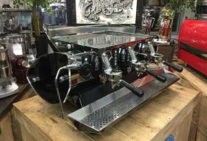 KEES VAN DER WESTEN MIRAGE 3 GROUP BLACK SIDES ESPRESSO COFFEE MACHINE