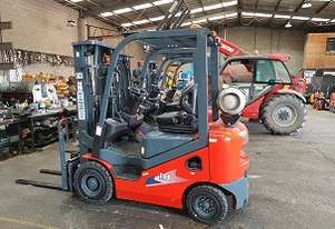 Heli CPQYD18 Dual Fuel Container Mast 1800kg Forklift Ex Demo