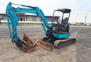 Airman AX35U-4 Excavator With Tilting Mud Bucket
