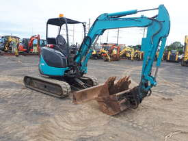 Airman AX35U-4 Excavator With Tilting Mud Bucket - picture3' - Click to enlarge