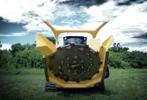 Skid Steer Forestry Disc Mulcher