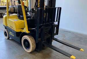 Hire forklifts container mast lpg 2.5 tonne,sideshift