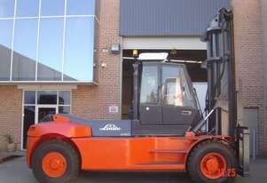 HIRE - 16 T Linde H160 (3 standard Container Stacker)