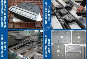 Vacuum Clamping Accessories For Your CNC