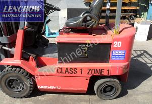 Flameproof electric forklift 2000kgs