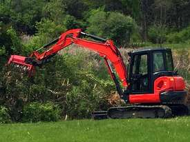 Fecon Mulcher for Skid Steers Mulcher Forestry Equipment - picture8' - Click to enlarge