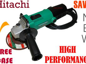 Angle Grinder Hitachi 115mm with free case