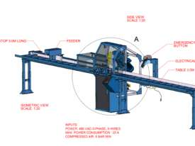 Fully Automatic Cold Saw Brobo COLDSAW FA3000K - picture4' - Click to enlarge