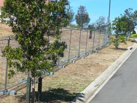 NEW TEMPORARY FENCING / FENCE SET /  SITE SAFE  - picture8' - Click to enlarge