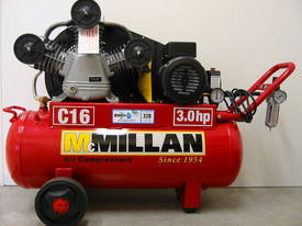 McMillan CAST IRON 16CFM COMPRESSOR 240V - picture0' - Click to enlarge