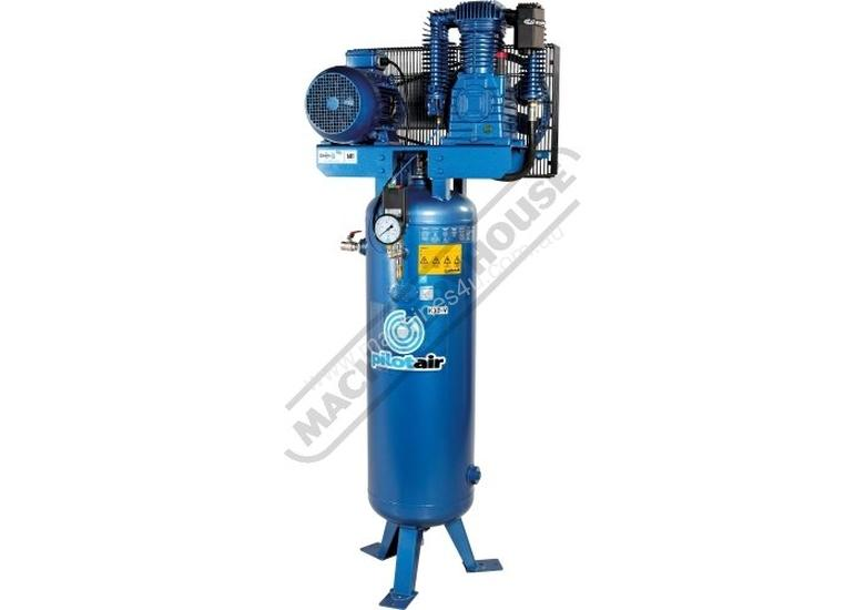 K30V Vertical Industrial Air Compressor 150 Litre / 7.5hp 30.8cfm / 871.8lpm Displacement