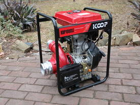 4 inch Diesel water pump cast iron 1500L/m 60m Head - picture0' - Click to enlarge