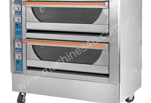 F.E.D. GU-4 Infrared High Performance Double Deck Oven