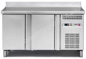 FAGOR 2 SS Door Snack Freezer Counter with Splashback MSN-150