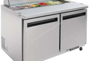 Polar GD882-A - Megatop Preparation/Salad Counter 405Ltr