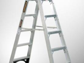 DOUBLE SM00401 SIDED STEP LADDER 150KG INDUSTRIAL