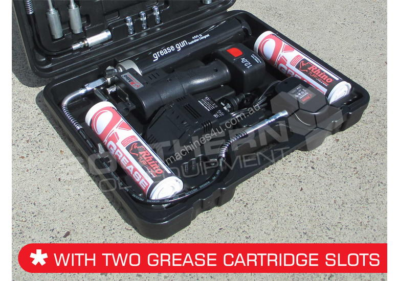 12 Volt Rechargeable Grease Gun - 2018 New Model TFGG6