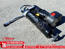 12 Volt Rechargeable Grease Gun New Model TFGG6 - picture0' - Click to enlarge